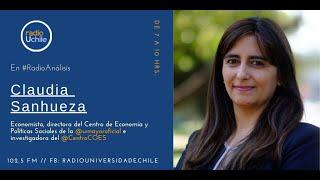 """Claudia Sanhueza: """"Tenemos un vacío en el sistema de pensiones"""""""