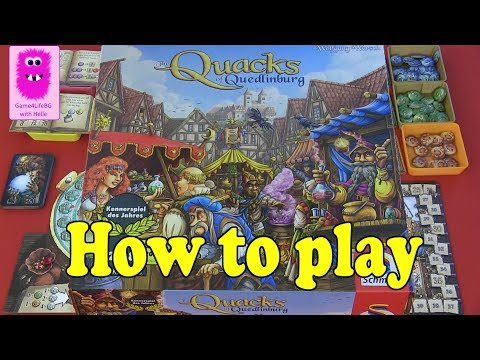 How to play - The Quacks of Quedlinburg
