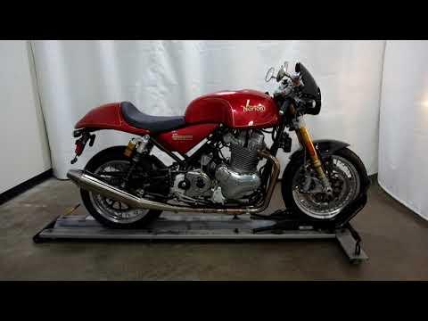 2016 Norton Motorcycles Cafe Racer MK11 in Eden Prairie, Minnesota - Video 1