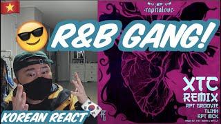 🇻🇳🇰🇷🔥Korean Hiphop Junkie react to XTC Remix - RPT Groovie ft TLinh x RPT MCK(VNN/ENG SUB)