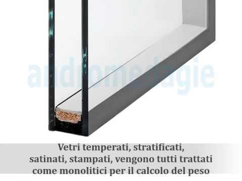 Calcolo del peso del vetro termico doppio detto anche camera o isolante - Video Tutorial