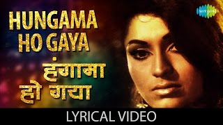 Hungama Ho Gaya with lyrics | हंगामा हो   - YouTube