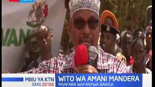 Viongozi wa siasa kaunti ya Mandera wafanya msafara wa amani Banisa