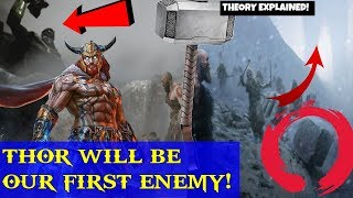 God of war 4- Thor after Kratos! Thor will be first BOSS enemy! THEORY EXPLAINED! Kratos vs Thor