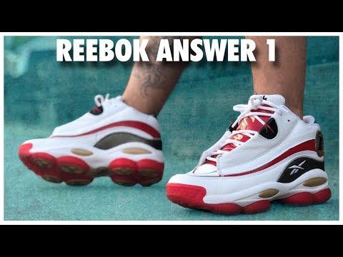 Reebok Answer 1 Retro White/Red