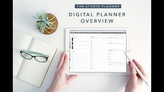 Digital Planner Overview: The 2019 Studio Planner