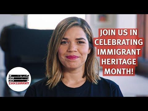 Immigrant Heritage Month: Join America Ferrera, George Takei, and More to say #IStandWithImmigrants