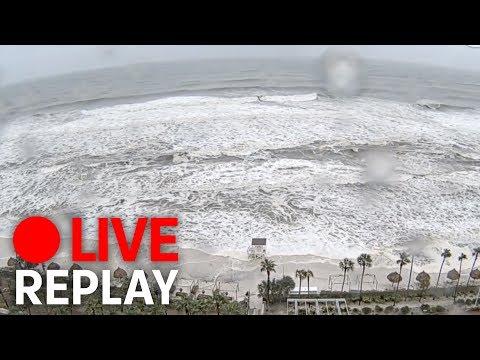 Hurricane Michael hits Florida (FULL)