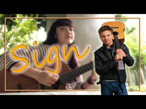 Jeremy Renner - Sign | Guitar Cover