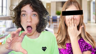 21 EXTREME Secrets HE Kept From Me! (Little Brother 100 Buttons Challenge)
