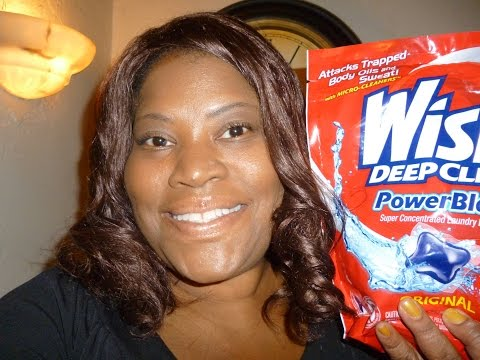 Laundry Detergent Review Wisk Deep Clean Power Blast