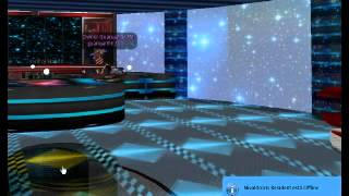 Second Life Space Station Club Party