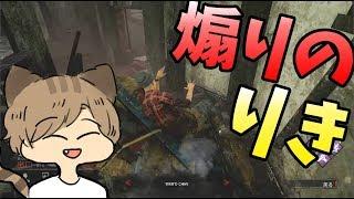 りきとー氏、敵のハンターさんへ煽りプレイ-dead By Daylight第五人格【KUN】