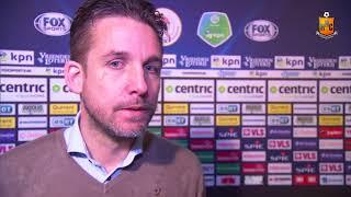 Reactie Gert Jan Karsten na Jong Sparta - HHC Hardenberg