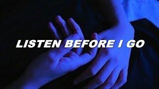Billie Eilish   Listen Before I Go (lyrics)