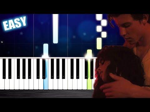 Shawn Mendes, Camila Cabello - Señorita - EASY Piano Tutorial by PlutaX