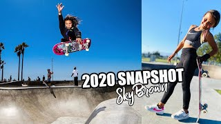 SKY BROWN Skate Compilation | 2020 Recap