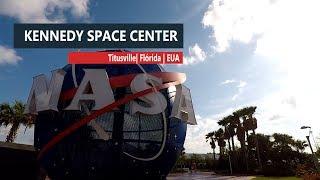 Explorando o espaço no KSC, na Florida