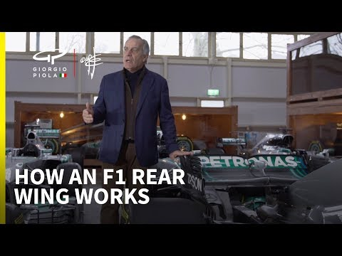 How a Formula 1 car works: Episode 2 - rear wings