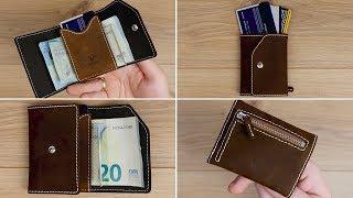 Platzwunder! Echtleder Slim Wallet mit RFID Schutz & Münzfach von Donbolso // DEUTSCH