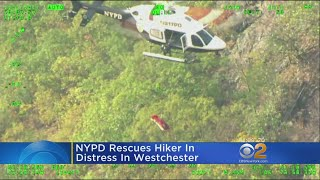 Hiker In Distress Rescued In Westchester County