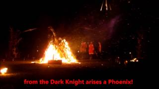 Festive Road Paraffinalia Fire Festival 20Dec14 Milton Keynes