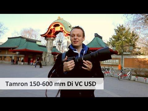 Tamron SP 150-600 mm Di VC USD | Super-Tele-Zoom-Objektiv für DSLRs im Test [Deutsch]