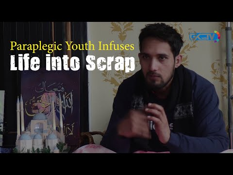 Paraplegic Youth Infuses 'Life' into Scrap