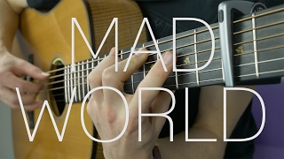 Tears For Fears/Gary Jules - Mad World - Fingerstyle Guitar Cover by James Bartholomew