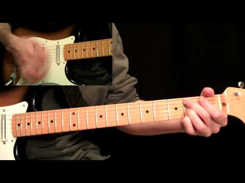 Stevie Ray Vaughan - Pride And Joy Guitar Lesson Pt.4 - Main Solo
