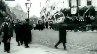 Суета на Тверской, Москва, 1908 год