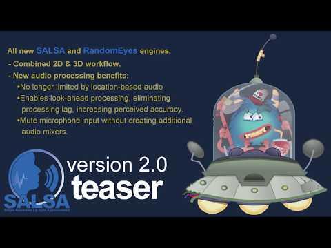 SALSA LipSync 2.0 Pre-Release Technology Preview (2D)