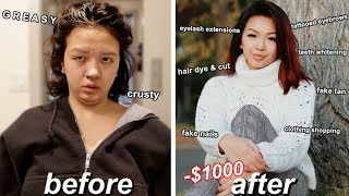 SPENDING $1000 FALL GLOW UP TRANSFORMATION