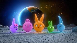 Sunny Bunnies |🌙 On The Moon 🌙 | SUNNY BUNNIES COMPILATION | Cartoons for Children