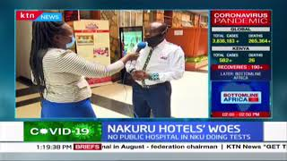 Why Nakuru hotels are unable to test for COVID-19