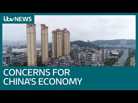 Concerns for Chinese economy ahead of Davos economic forum | ITV News