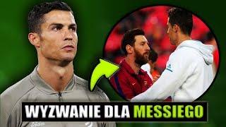 Cristiano Ronaldo RZUCIŁ WYZWANIE MESSIEMU.. Chce by zagrał w Lidze Włoskiej!