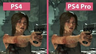 Rise of the Tomb Raider – PS4 Pro 1080p Enhanced Visuals vs. PS4 Graphics Comparison