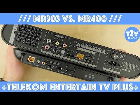Telekom Entertain Receiver MR303 vs. MR400 // Lohnt sich das Update?