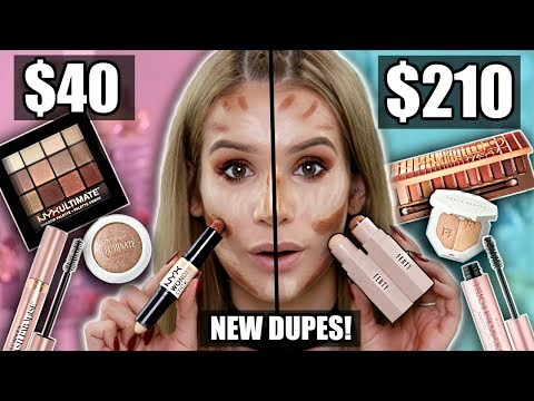 NEW CHEAP Drugstore Dupes for VIRAL HIGH END Makeup!