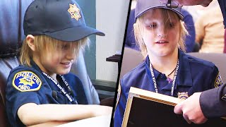 Boy With Terminal Disease Becomes Police Chief for a Day
