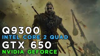 The Witcher 2 (2011) Gameplay GeForce GTX650 - Intel Core 2 Quad Q9300 - 4GB RAM