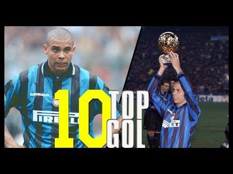 I 10 Gol più belli di Ronaldo con la maglia dell'Inter in Serie A