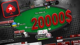 Тащим Финалку на 20000$ Турнир по Покеру! Финальный стол на Pokerstars