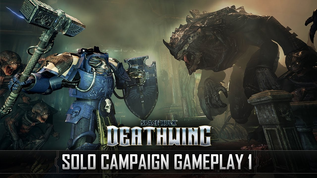 17 Minutes Of Gameplay From Creepy Co-Op Shooter Space Hulk: Deathwing