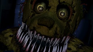 Nightmare springtrap jumpscare?! (FNAF 4)