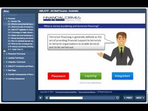AML-CTF - Australia - All Staff - Online Training Course - YouTube