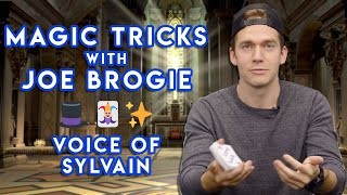 DOING MAGIC TRICKS WITH SYLVAINS VA Ft. Joe Brogie (Voice Of Sylvain From Fire Emblem Three Houses)