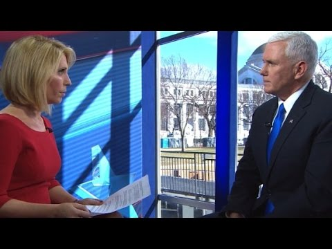 Pence: Can't ignore hacking, but need to work with R...