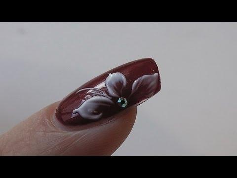 NAGELDESIGN MIT 3D-Gel 💅🏽 | Nail tutorial Blumendesign